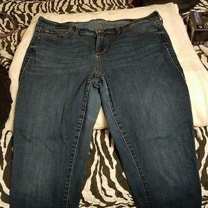 Torrid sky high skinny jeans